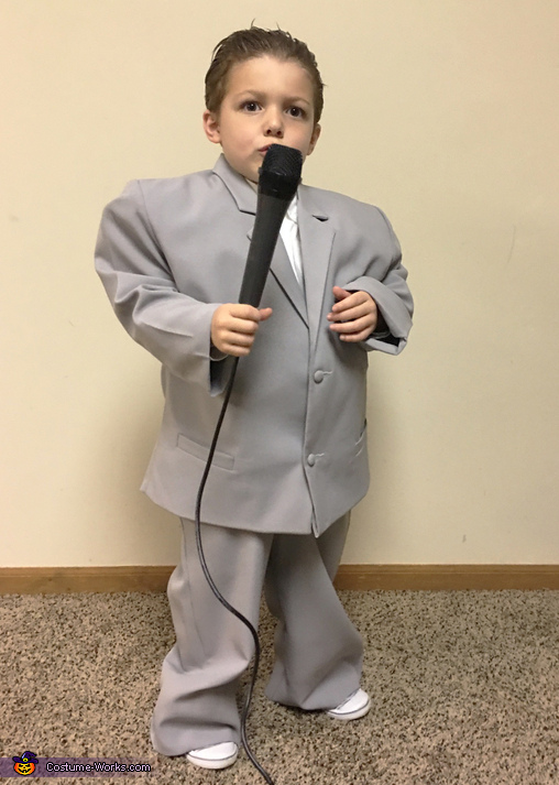 David Byrne from Talking Heads Costume