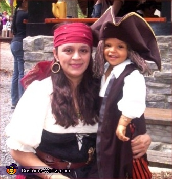 Here is Osiris (lovely name by the way Ü) and Dave., Pirates Family Costume