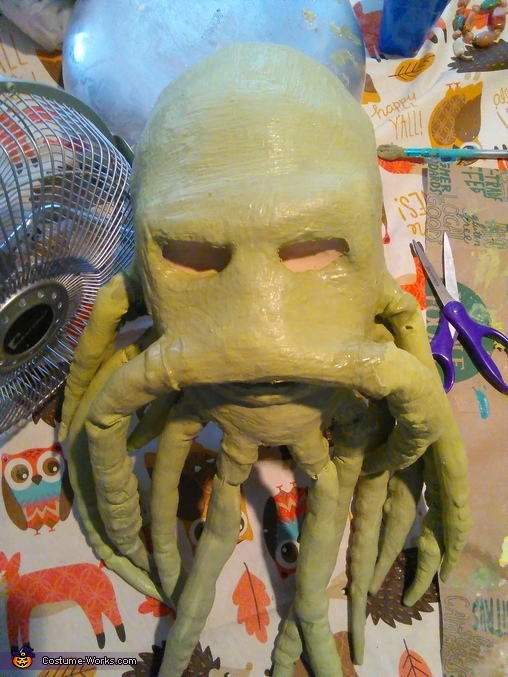 Davy Jones Homemade Costume