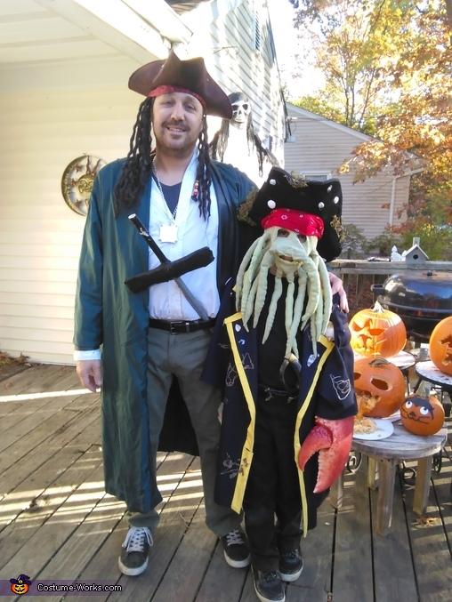 Davy Jones Homemade Costume