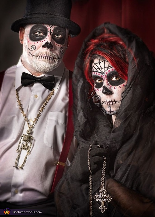day of the dead couple - photo #5
