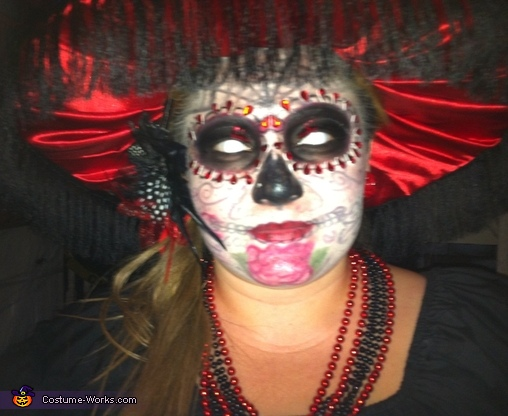 'CATRINA', Day of the Dead Couple Costume