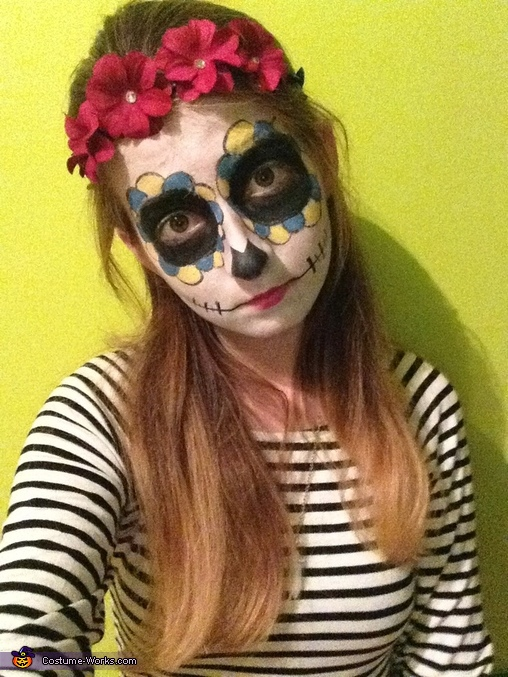 Day of the Dead Homemade Costume