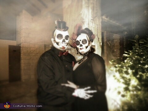 US, Day of the Dead Costume