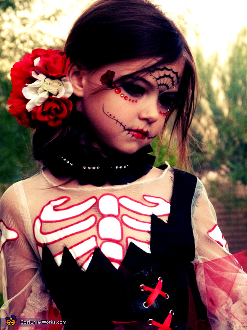Day of Dead Beauty 4, Day of the Dead Beauty Costume