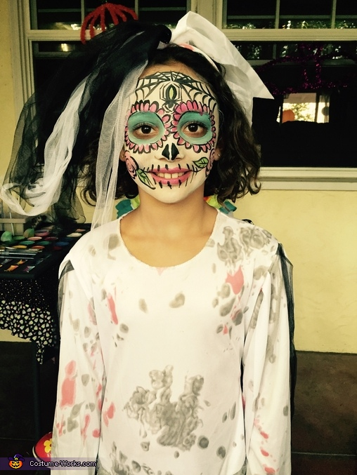 Day of the Dead Bride Homemade Costume