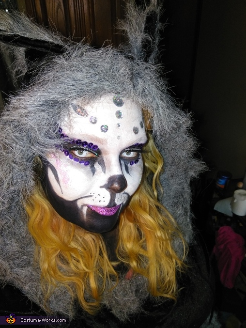 Day of the Dead Cat Costume