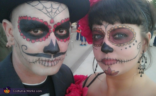 day of the dead couple - photo #37