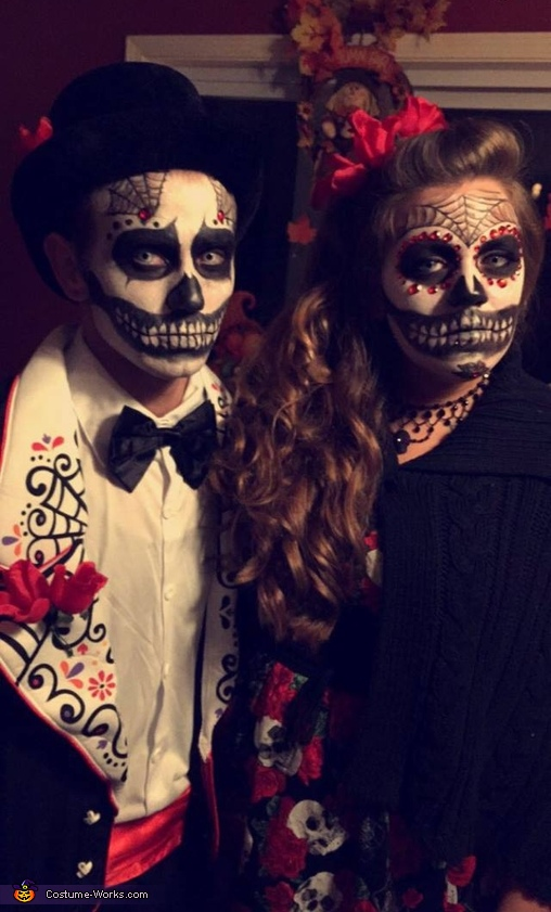 Day of the Dead Couple Costume