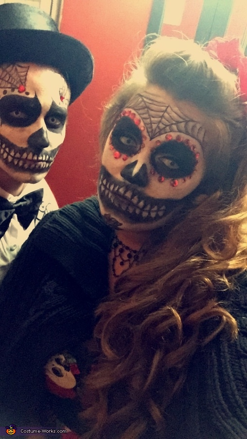 Day of the dead ' night 2 ', Day of the Dead Couple Costume