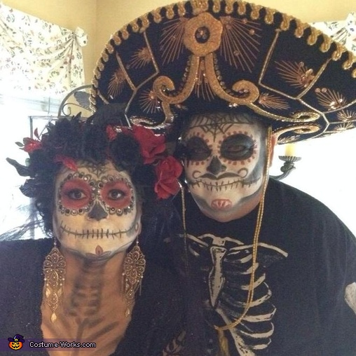 Day of the Dead Couple Costume Idea