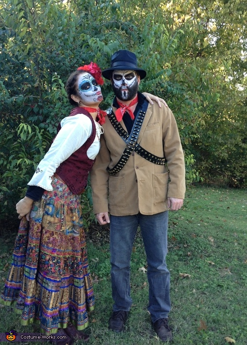 My honey, Day of the Dead Family Costume