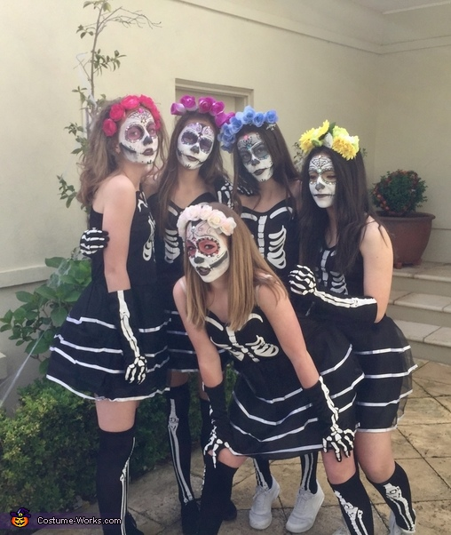Gang, Day of the Dead Costume