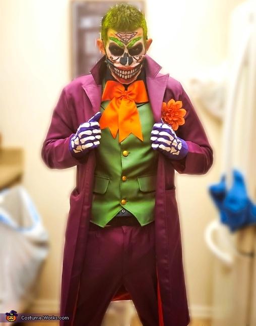 Day of the Dead Joker Costume