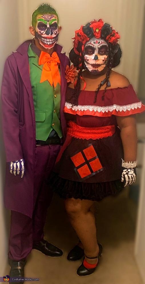Day of the Dead Joker & Harley Quinn Costume