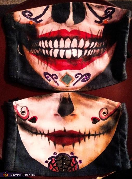 Day of the Dead Joker & Harley Quinn Homemade Costume