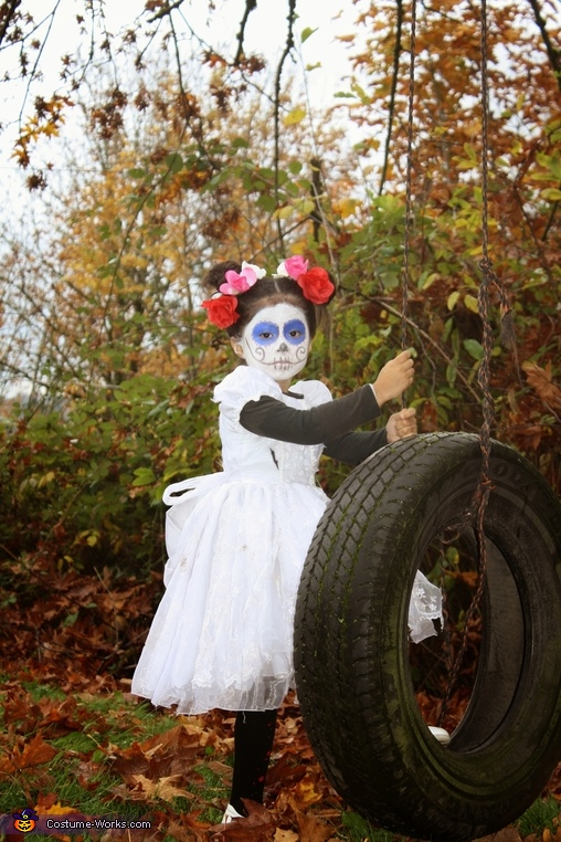Day of the Dead Little Girl Costume