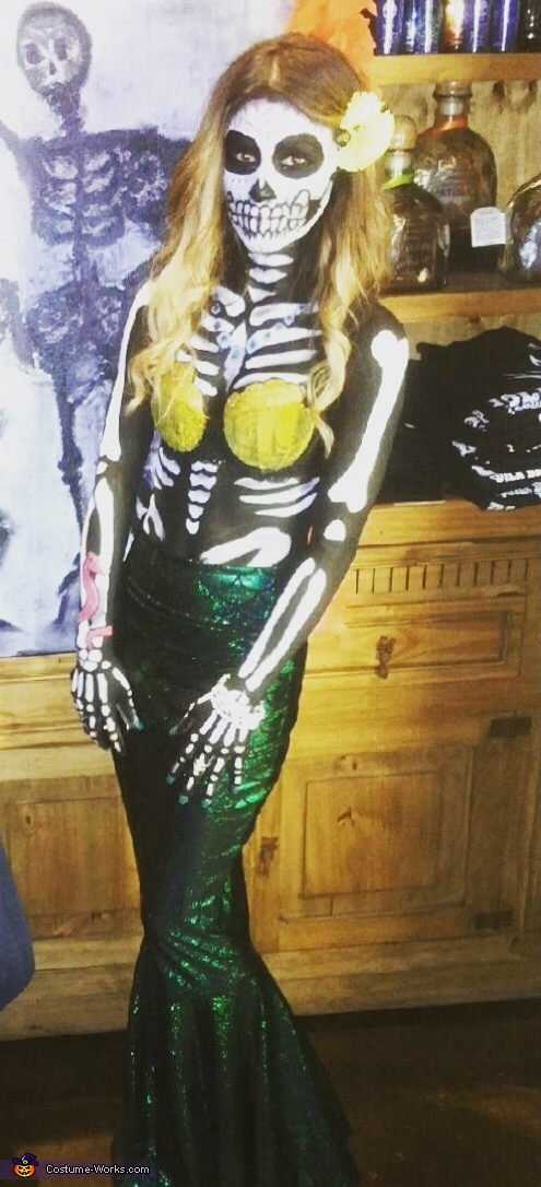 Day of the Dead Mermaid Costume