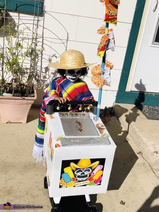 Day Of The Dead Paletero Man Costume