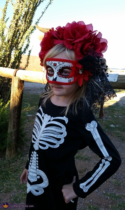 Day of the Dead Skeleton Girl Costume