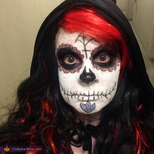 Day of the Dead Sugar Skull Sorceress Costume