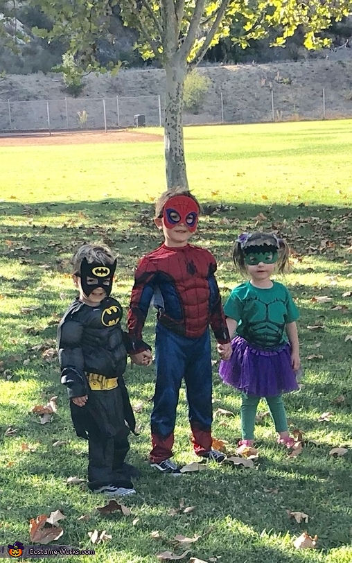 DC and Marvel Unite Costume