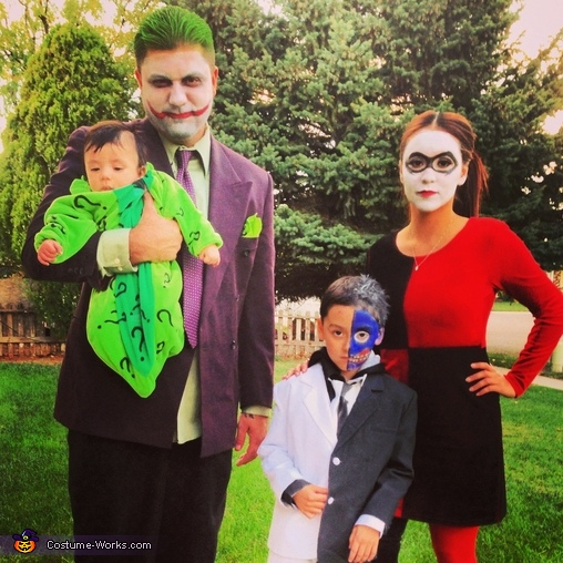 sc 1 st  Costume Works & DC Villains Family Costume