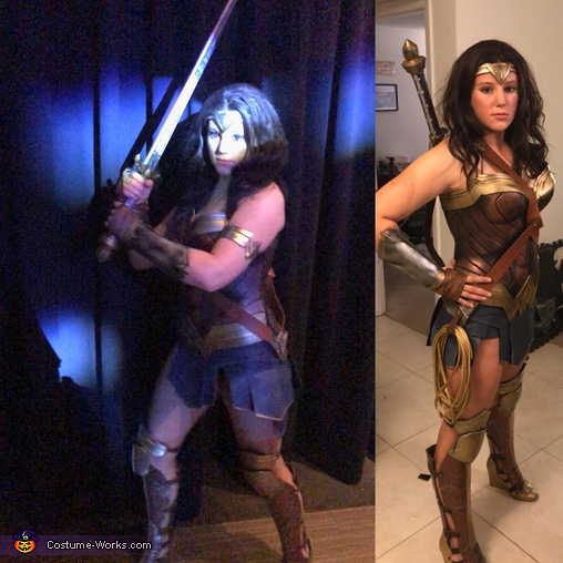 DCEU Wonder Woman Costume