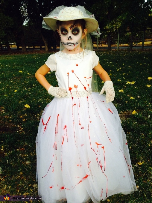 Dead Bride Homemade Costume