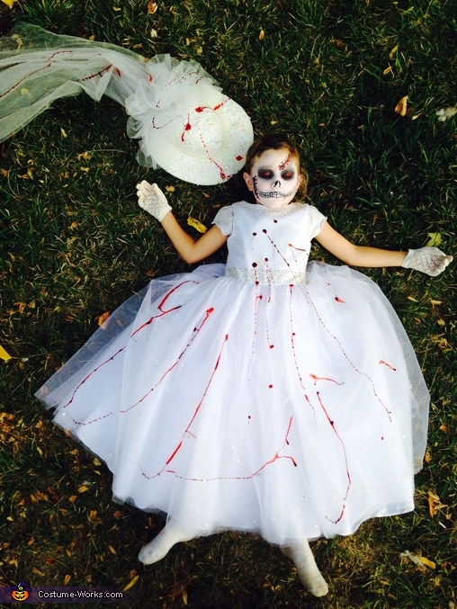Dead Bride Homemade Costume