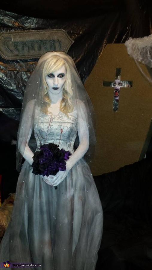Dead Bride and Groom Costume for Couples