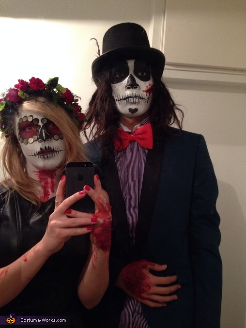 Dead Couple Homemade Costume