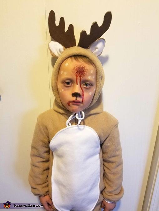 Dead Deer Homemade Costume