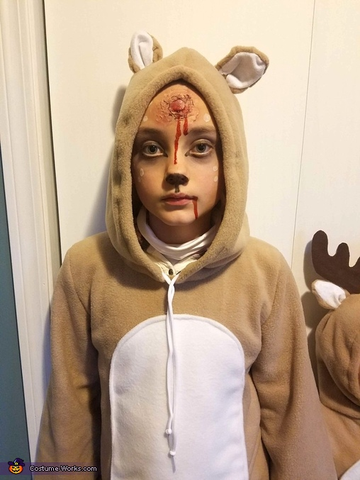 Dead Deer Homemade Costume