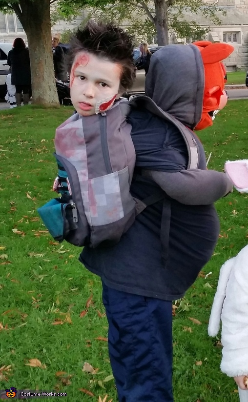 Dead in a Backpack Costume