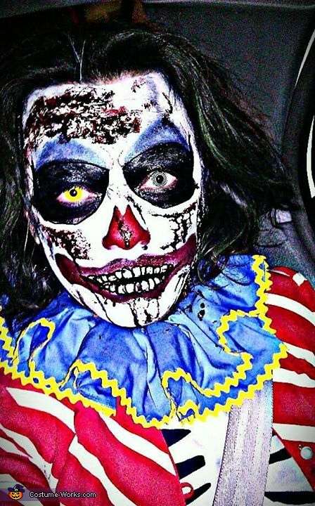 Dead Killer Clown Costume