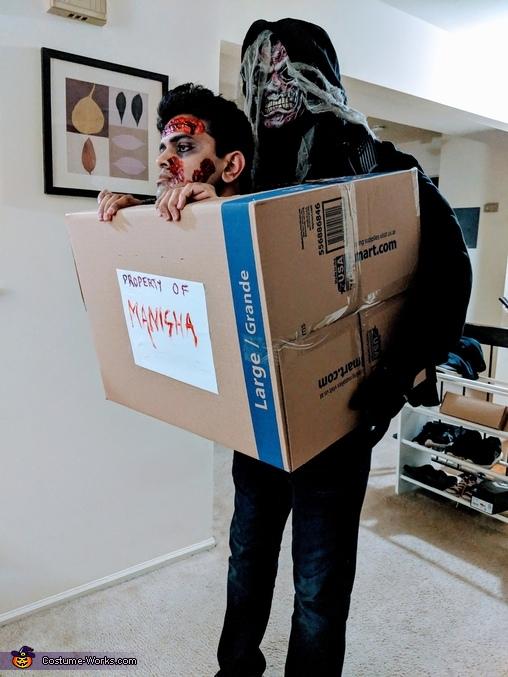 Dead man in a box Costume