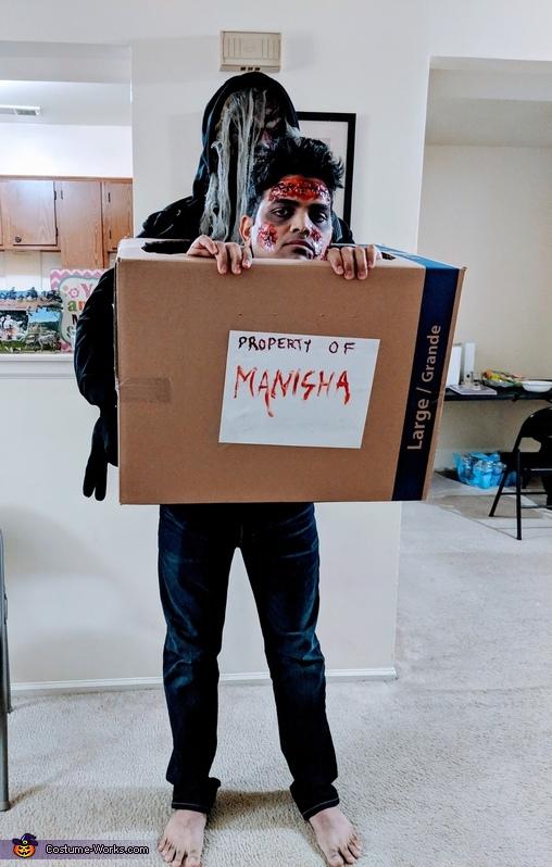 Dead man in a box Homemade Costume