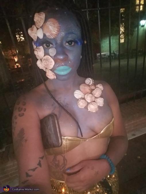 Dead Mermaid Homemade Costume