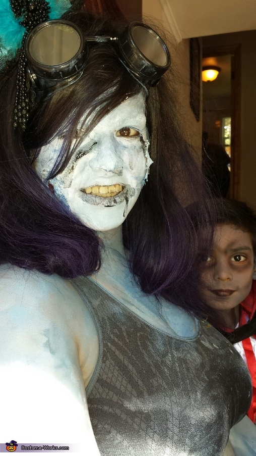 Dead Sailor and Toxic Waste Siren Homemade Costume