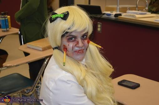 Dead Schoolgirl Homemade Costume