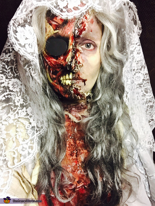 Dead Zombie Bride Costume