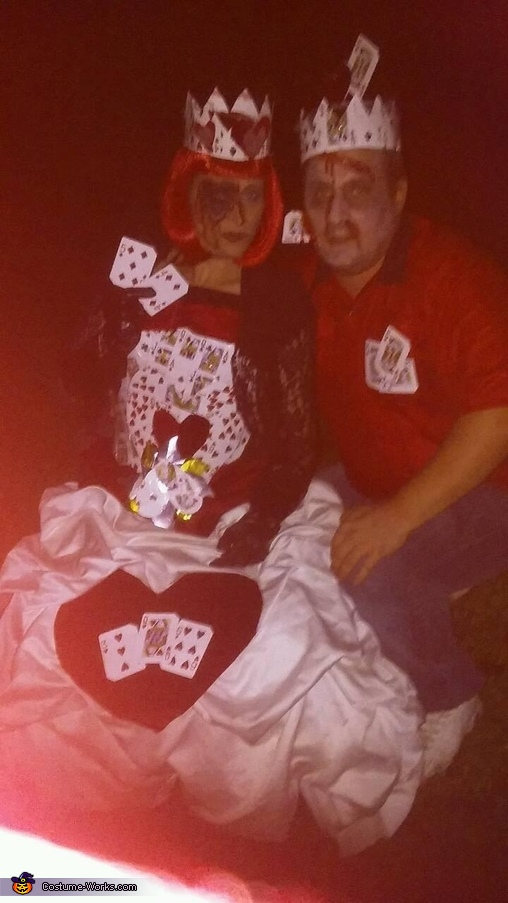 Deadly King and Queen of Hearts Costume