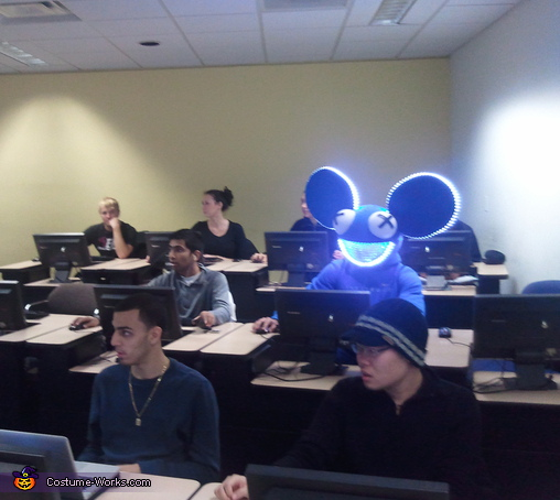 In school :D, Deadmau5 Costume