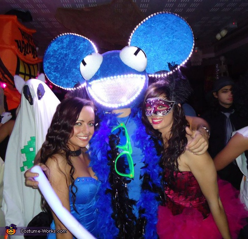 Hand made Deadmau5 Costume