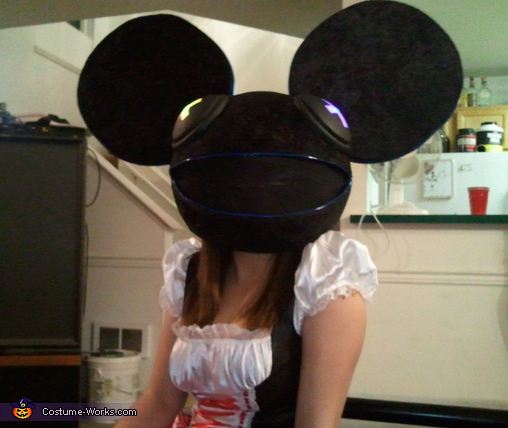 On GF, Deadmau5 Costume