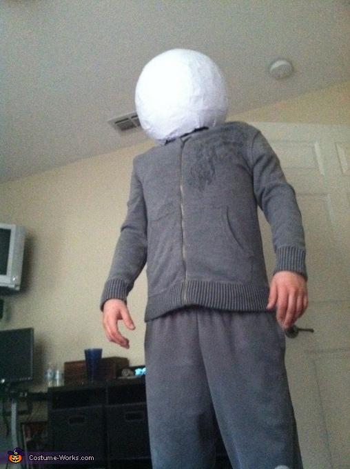 paper mache, Deadmau5 Costume