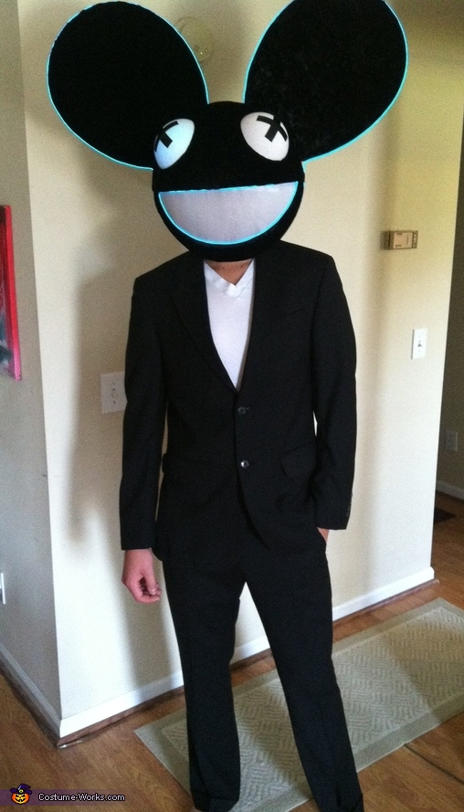 deadmau5 costume - Deadmau5 Halloween Head