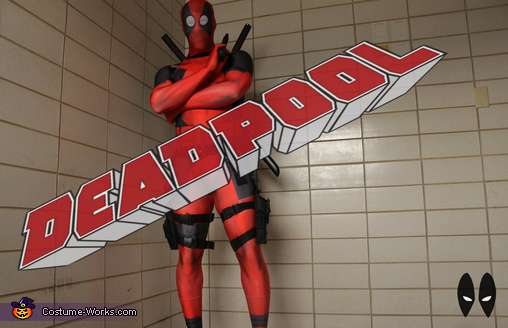 Deadpool Costume for Men