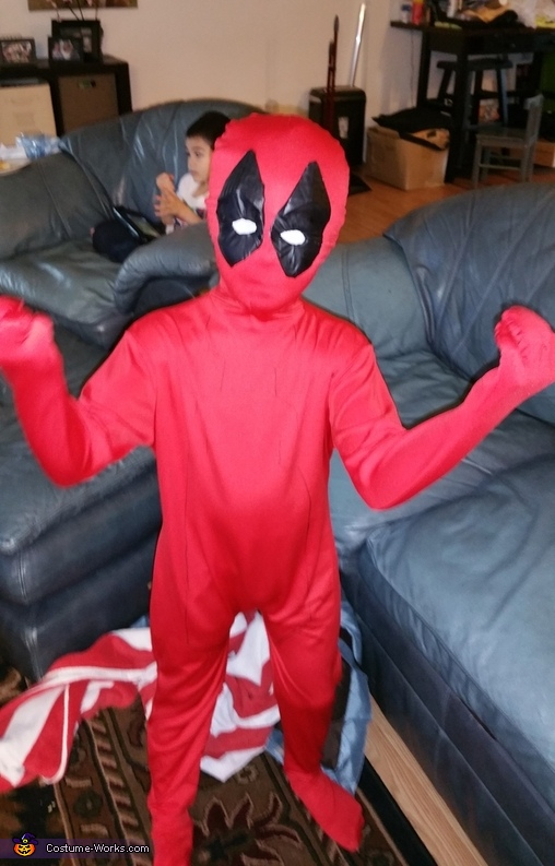 just added eyes, Deadpool Costume